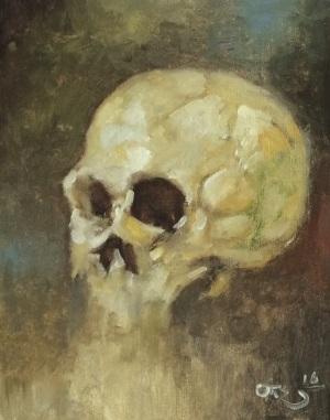 Study_skull_1