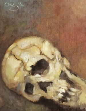 Study_skull_2
