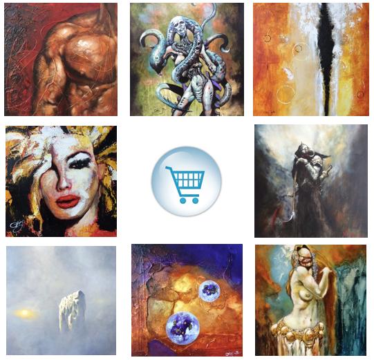 Online Store montage