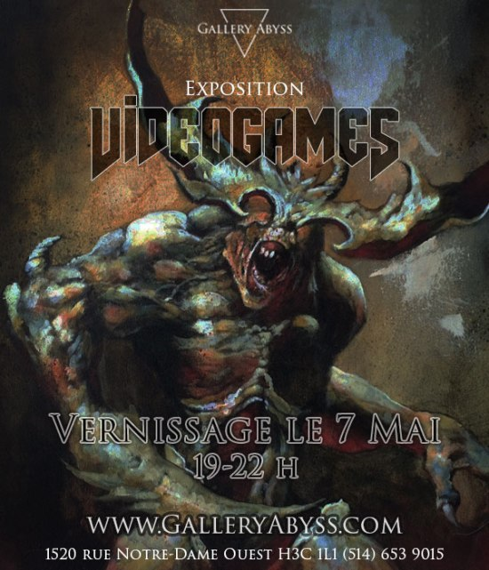 Affiche Video Games Abyss Mai