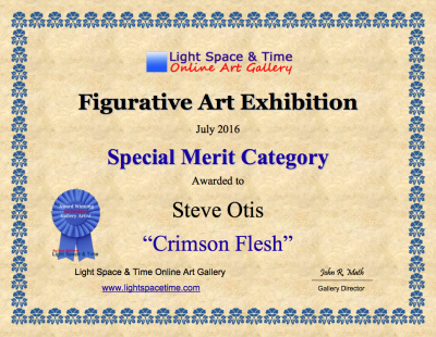 Crimson Flesh certificate