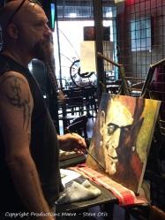 Steve painting 1